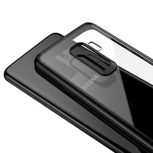 813-Ultra Thin Silicone Transpparent Cases For Samsung S9 S9 Plus