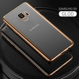 843-Electroplating Full Shockproof Cases For S9/S9+