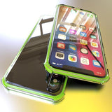 825-Luxury Clear Silicone Shockproof Case For iPhone