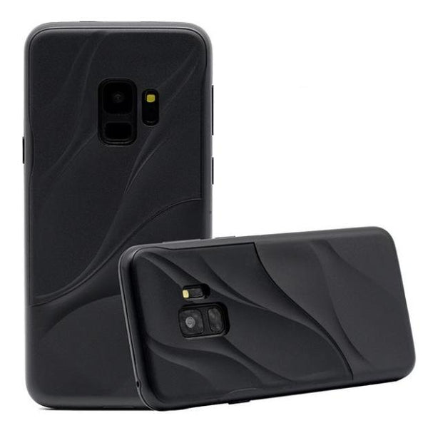 848 - Hybrid Armor Soft Silicone Case For Samsung Galaxy S9/S9+