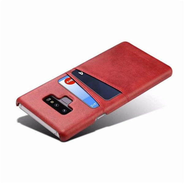 1001-Luxury Leather Wallet Card Holder Back Covers For Samsung Note 9