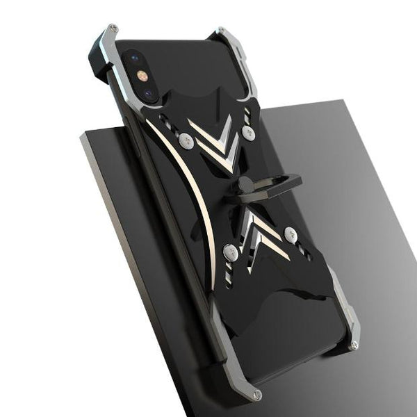 1091-360 Rotate Metal Ring Stand Case For iPhone