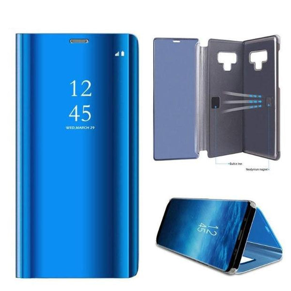 971-Luxury Clear View Mirror Case for Samsung Note 9