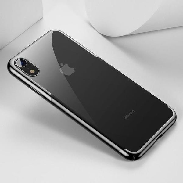 1044-Luxury Ultra Thin Plating Hard Plastic Case For iPhone