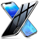 1053-Tempered Glass Cover + TPU Frame For iPhone