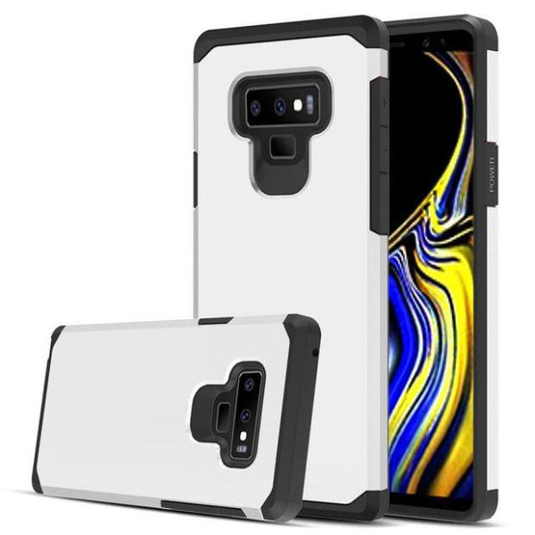 1021-Dual Layer Hybrid Armor Case For Samsung Note 9