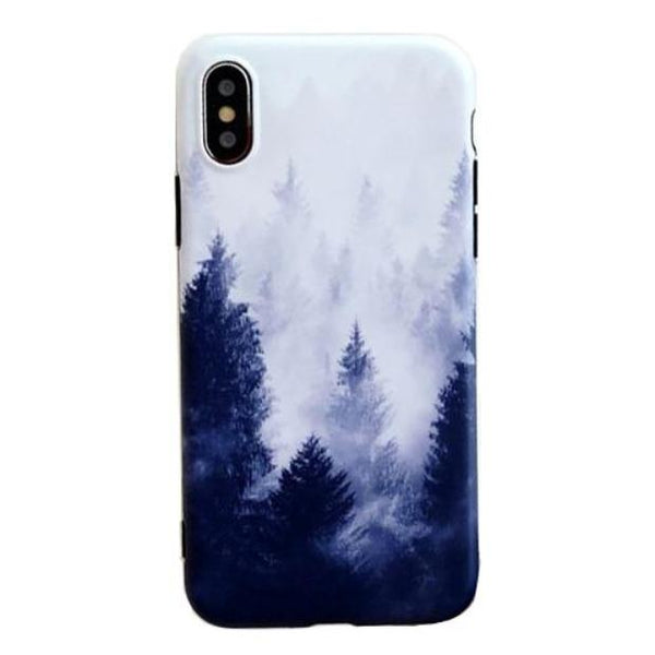 1036-Scenery Landscape Soft TPU Case For iPhone