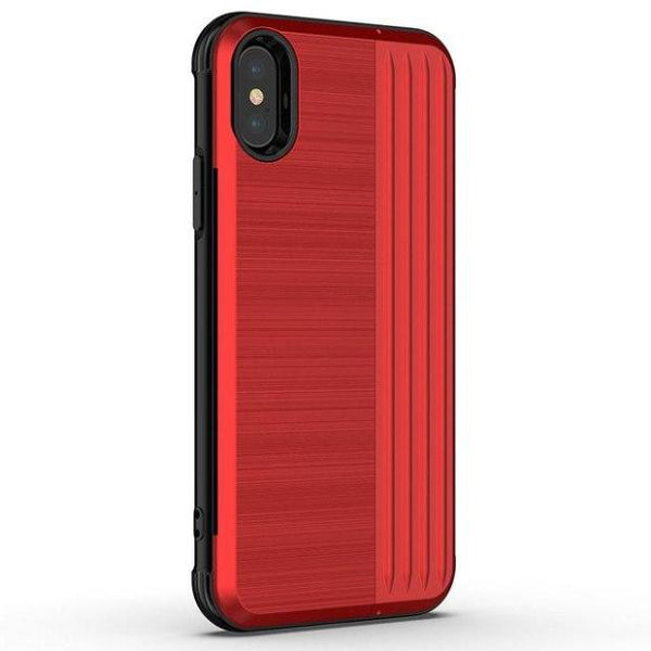 1035-Hard PC Soft Silicone Fitted Cases For iPhone