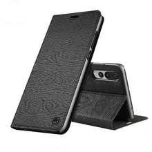 810139-Leather PU Flip cover card slot stand Case For Huawei