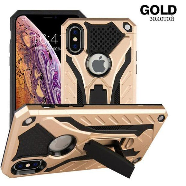 1106-Full Cover Shockproof Armor Case For iPhone