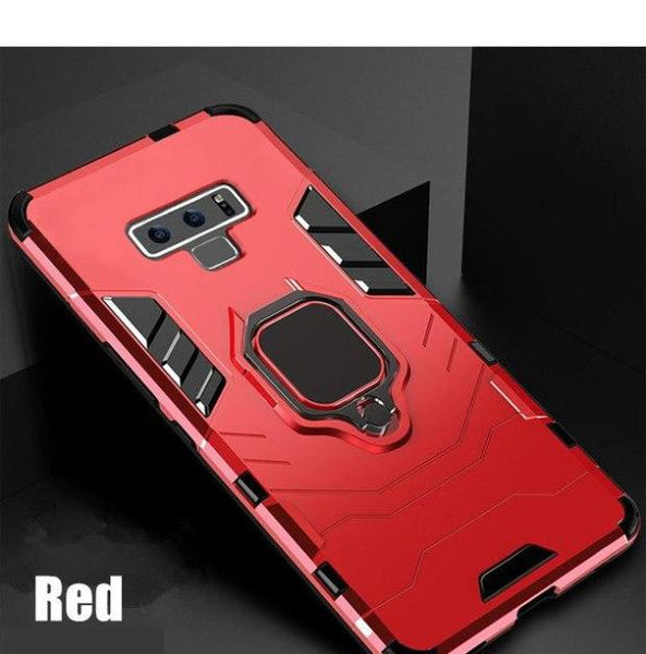 1120-Hard PC+Soft Silicone Full Case For Samsung Note 9