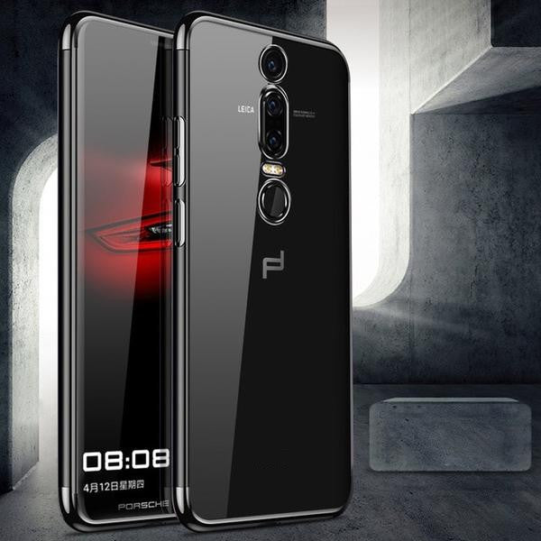 810147-Transparent Plated Coque For Huawei P20 Pro/P30 Pro/Mate20 Pro