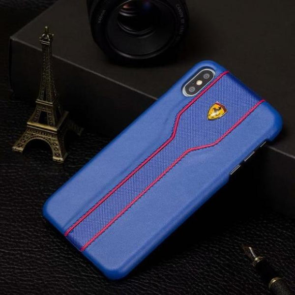 1143-Leather Cover Phone Case For iPhone