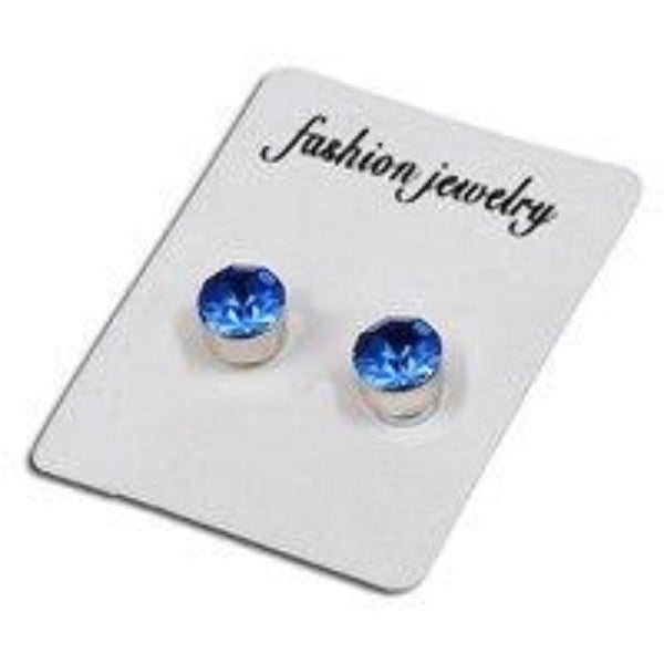 1Pair Magnet Colorful Diamond Stud