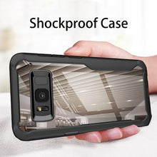 810124-Shockproof & TransparentCase For Samsung Galaxy S10 S9 Plus Note 9