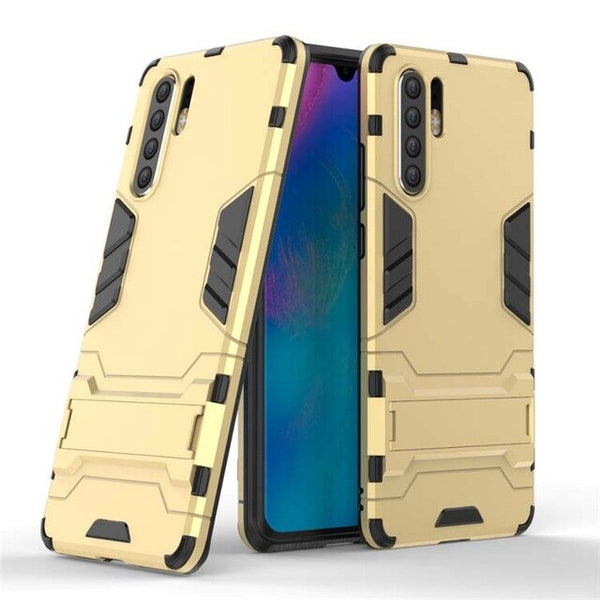 810155-Shockproof 3D Robot Rubber Hard Armor Case For Huawei