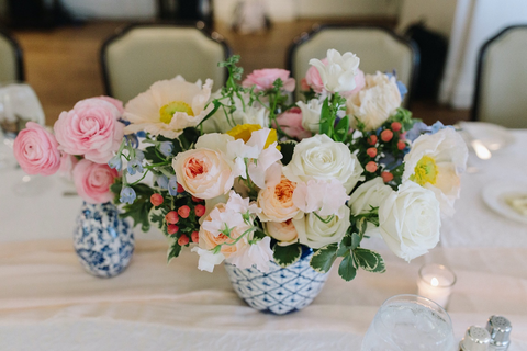 Intimate Wedding Centerpiece
