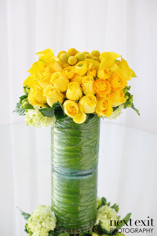 Cheerful Yellow Flowers