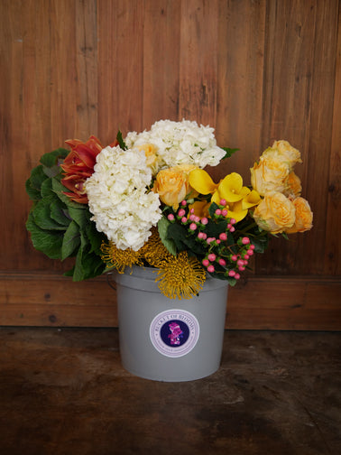Bucket Of Blooms <br/>Every 4 Weeks