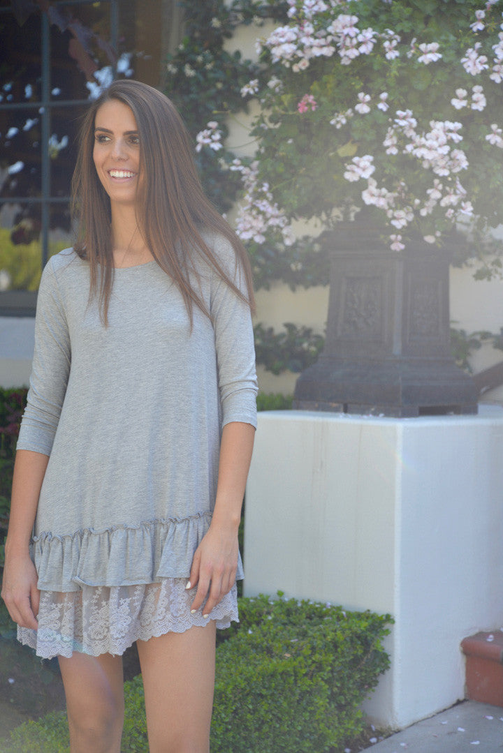 Ruffled Tunic Dress