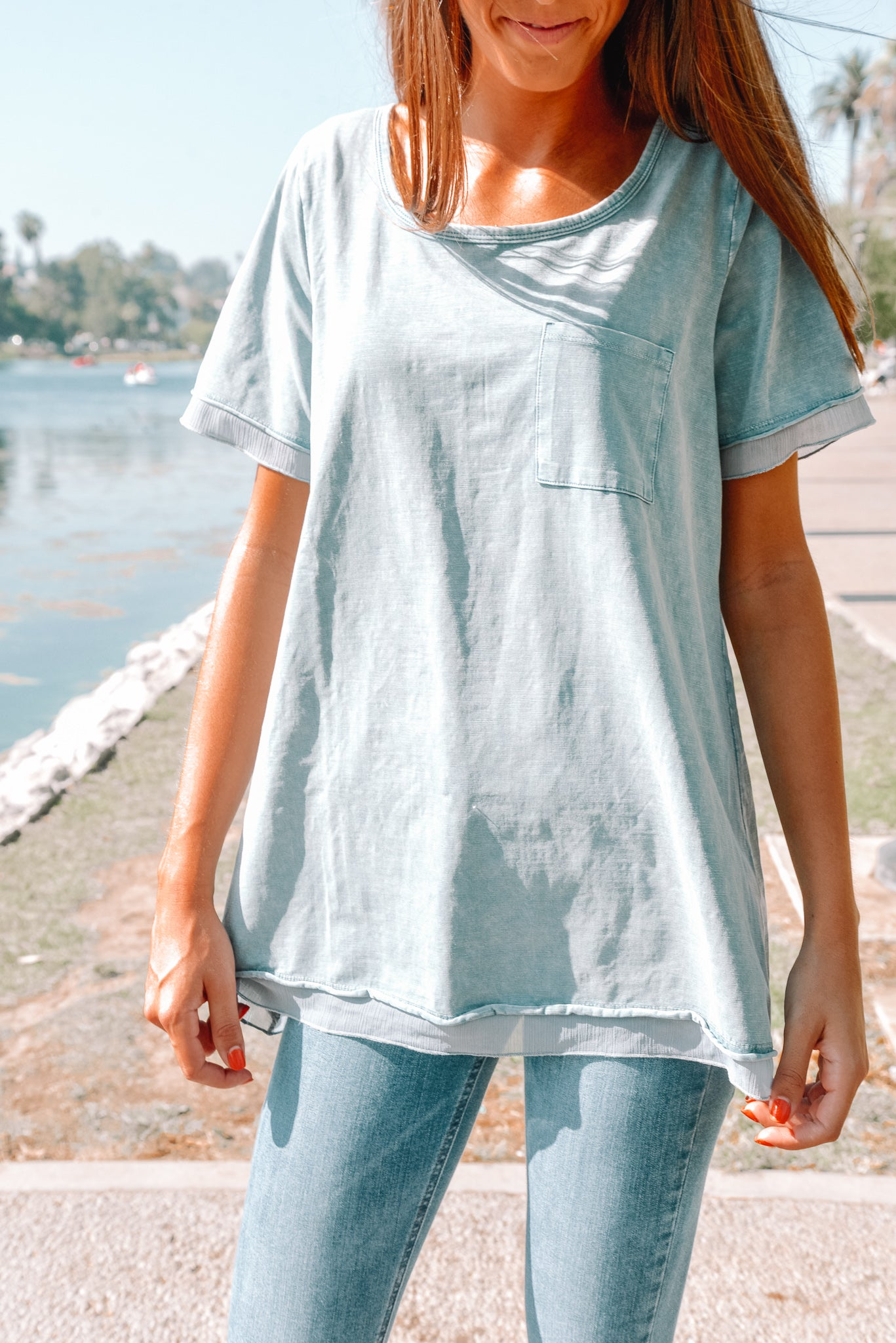 Washed Out Tee