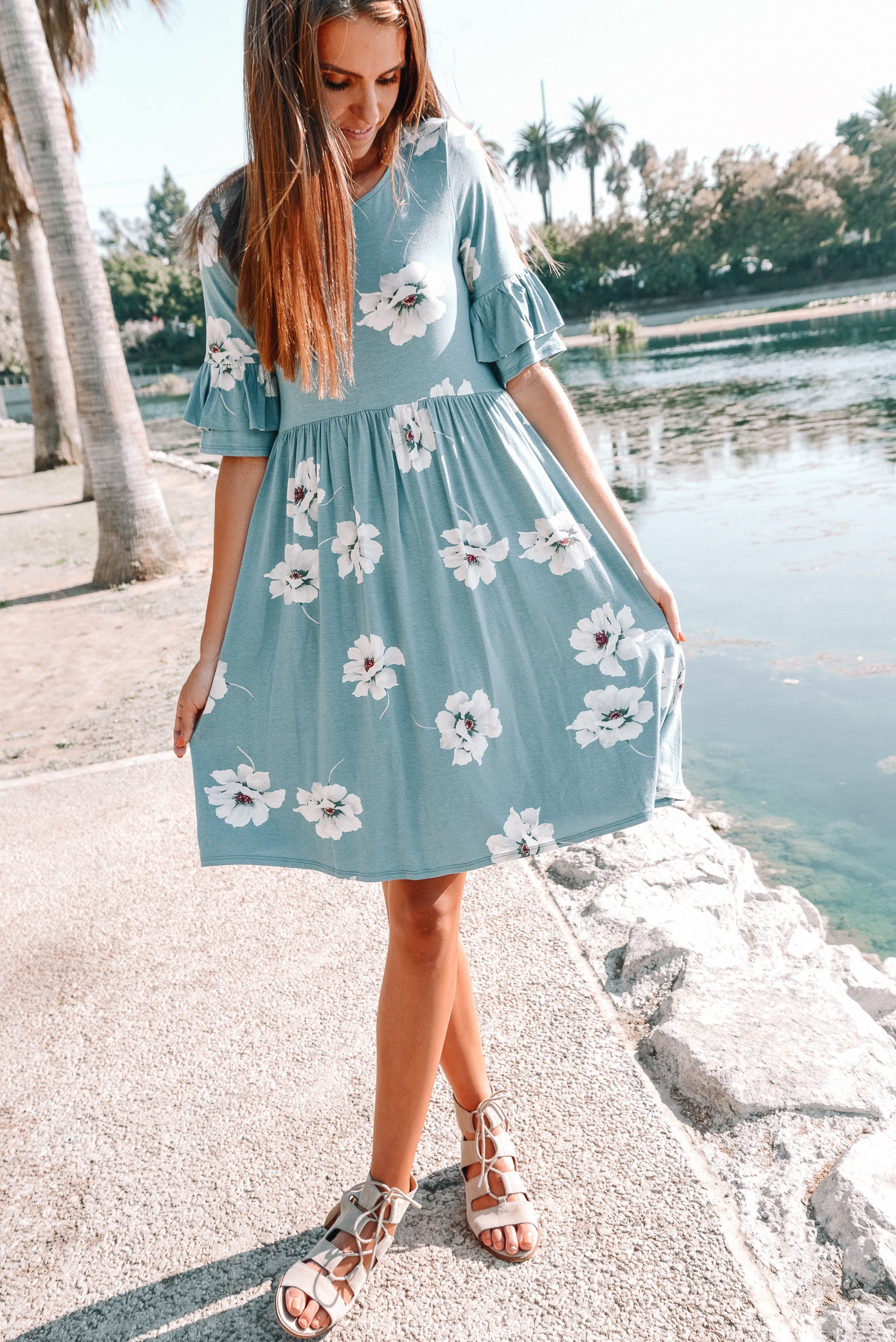 Oh So Floral Dress