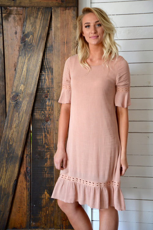 Faith Ruffle Dress