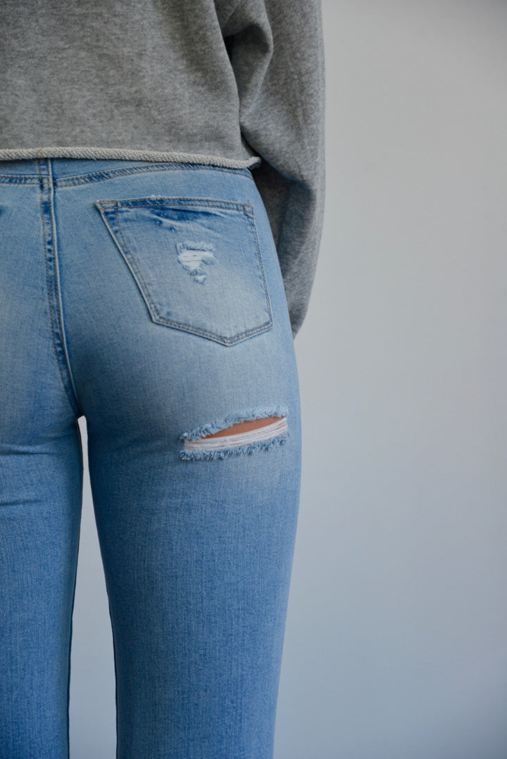 Lazy Like Sunday Morning Jeans