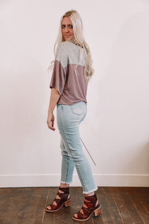 Casey Cropped Tee