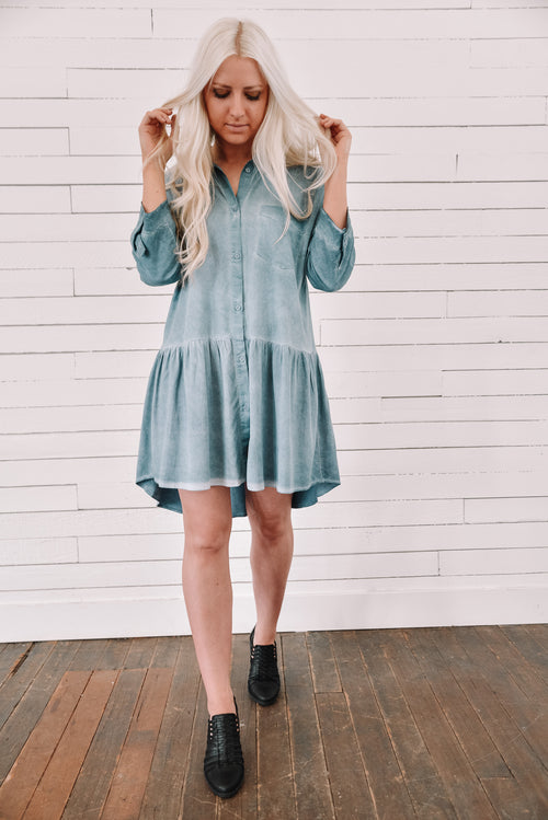 Darling in Denim Dress