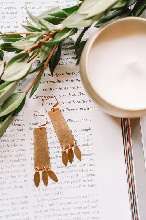 Talia Fringe Earrings