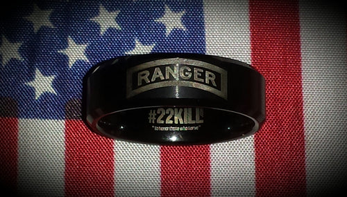 Engraved Honor Ring (Ranger Tab)