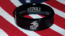 Engraved Honor Ring (USMC EGA)