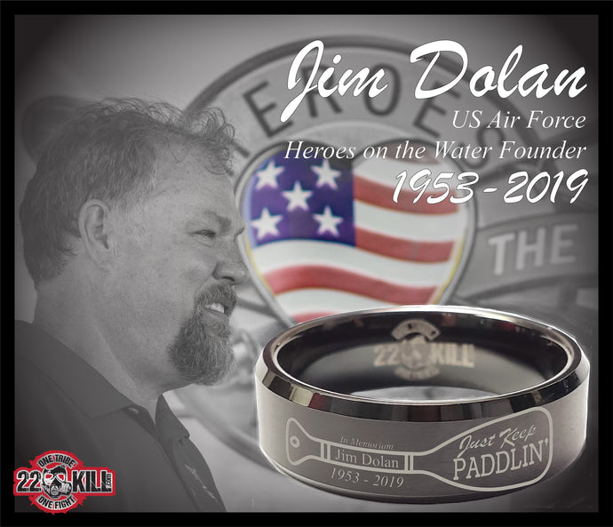 Engraved Honor Ring (In Memoriam Jim Dolan)