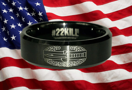 Engraved Honor Ring (Combat Action Badge)