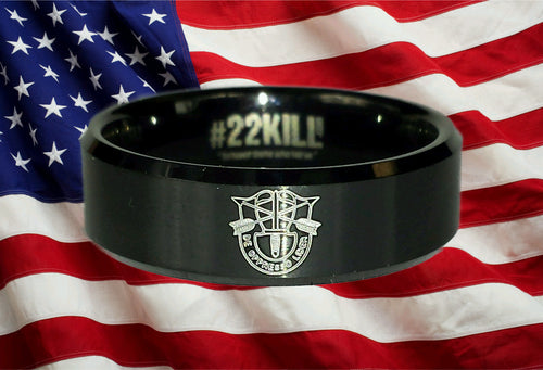Engraved Honor Ring (De Oppresso Liber)