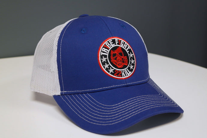 Trucker Hat (Blue/White)