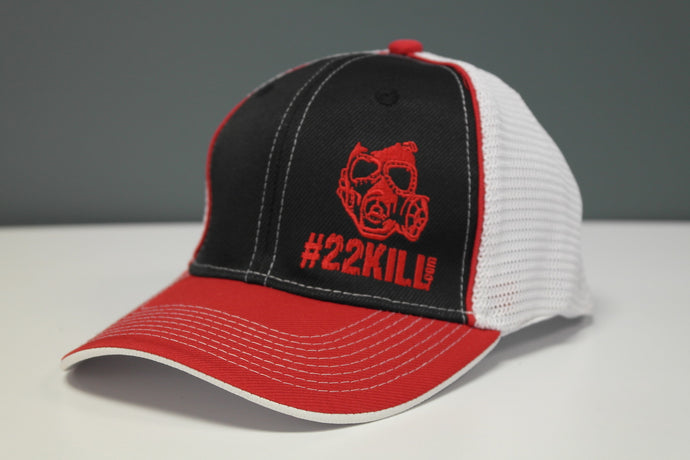Flexfit Hat (Red/White/Black)