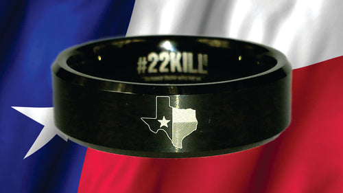 Engraved Honor Ring (Texas)