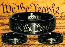 "Engraved Honor Ring (""We the People"")"
