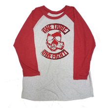 Baseball Tee (White/Red)