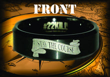 Engraved Honor Ring (Stay the Course)
