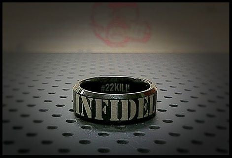 Engraved Honor Ring (INFIDEL)