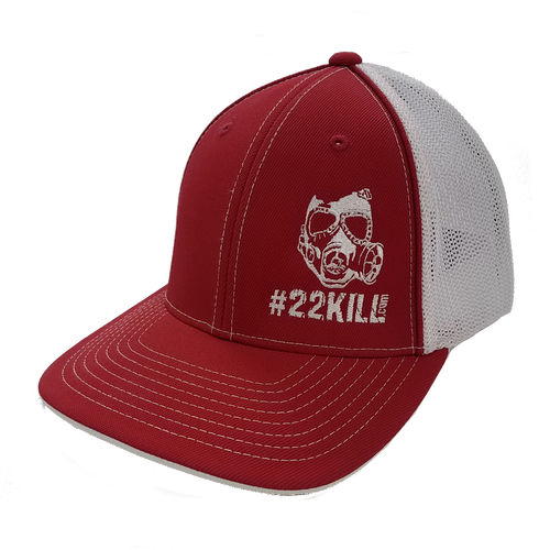 Flexfit Hat (Mesh Red/White)