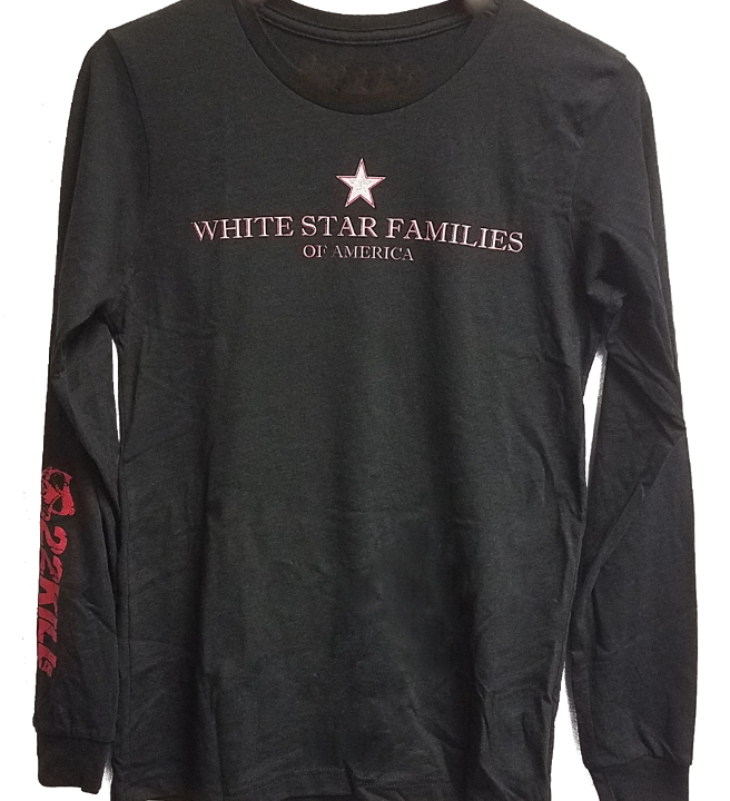 T-Shirt (White Star Long Sleeve)