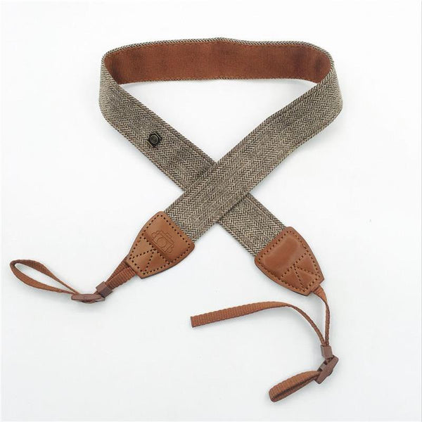 Vintage Leather Style Camera Strap