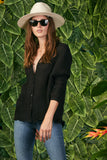 Dolman Top- Black