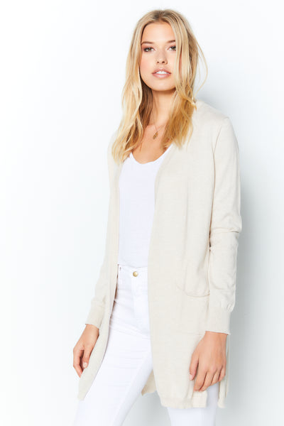 Pocket Cardigan  - Chantilly