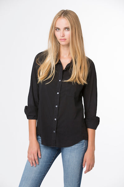 Boyfriend Shirt -Black