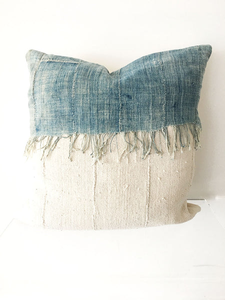 Denim Trimmed Pillow